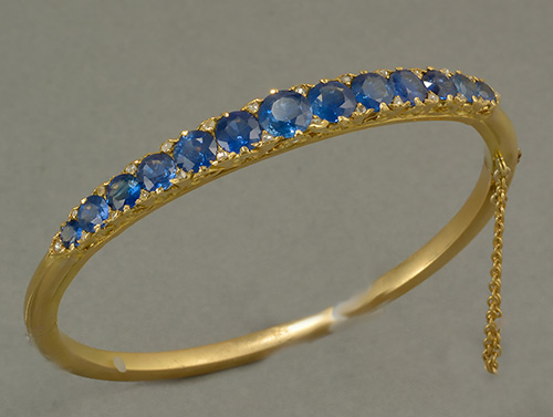 latest buy detail bangles gold product gemstone precious jewelry sapphire